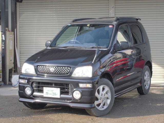 ダイハツ CL ターボ 2WD キーレス CDMD DVDナビ AT