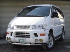 デリカスペースギアシャモニー 4WD AT ガソリン ETC CD キーレス