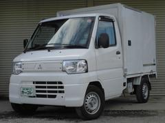 ミニキャブトラック冷蔵冷凍車 −5度設定 3速AT パワステ ナビTV ETC