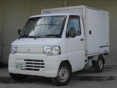 ミニキャブトラック冷蔵冷凍車 −5度設定 パワステ エアコン 5速MT 4WD