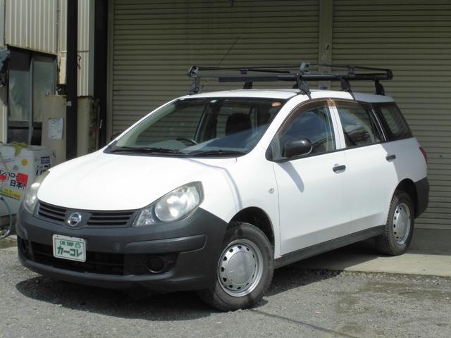 日産 VE 4WD 4速AT 法人ワンオーナー記録簿付 ナビ