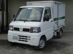 クリッパートラック冷蔵冷凍車 −5℃設定 片側スライドドア パワステ
