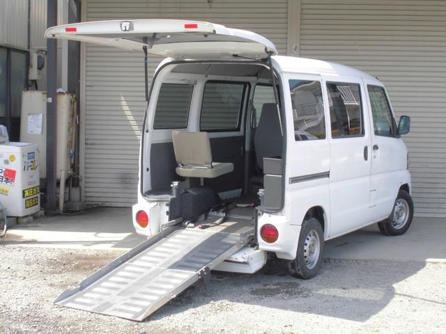 日産 車椅子移動車 福祉車両 法人ワンオーナー記録簿付 禁煙車