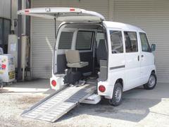 クリッパーバン 車椅子移動車 福祉車両 法人ワンオーナー記録簿付 禁煙車(日産)