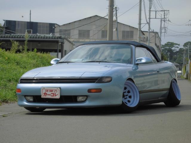 トヨタ 5速MT  左ハンドル 電動オープン 車高調