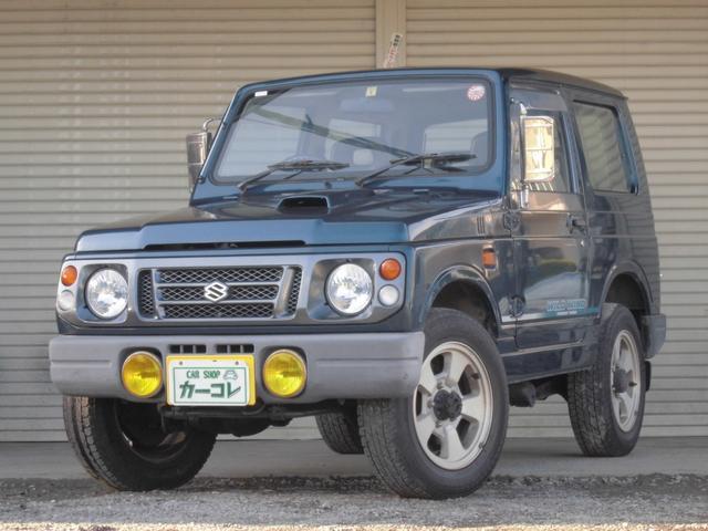 スズキ ワイルドウインド ターボ 3速AT 4WD AC フォグ