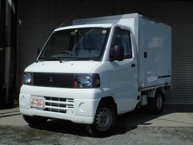 三菱 冷蔵冷凍車 -5℃設定 4WD 5速マニュアル PS