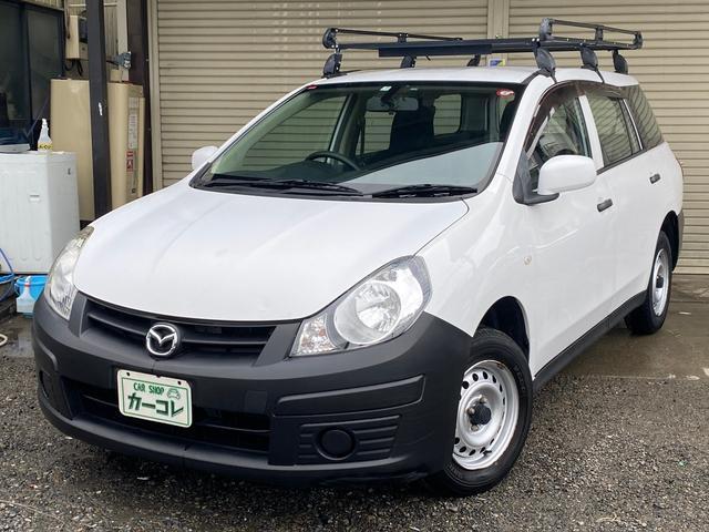 マツダ VE 4WD 4速AT ルーフキャリア付 キーレス CD 電格ミラー 100V電源