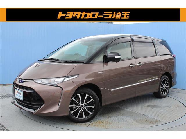 トヨタ アエラス 当社元社用車 SDナビ ETC2.0 バックモニタ