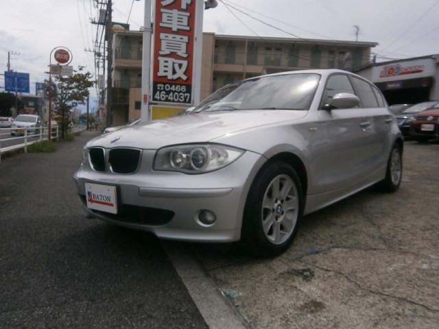 BMW 118iHDDナビ純正HIDライト禁煙車