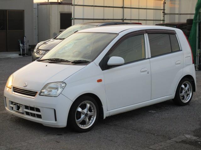ダイハツ X 1年間保証付き 外内装クリーニング済み 車高調