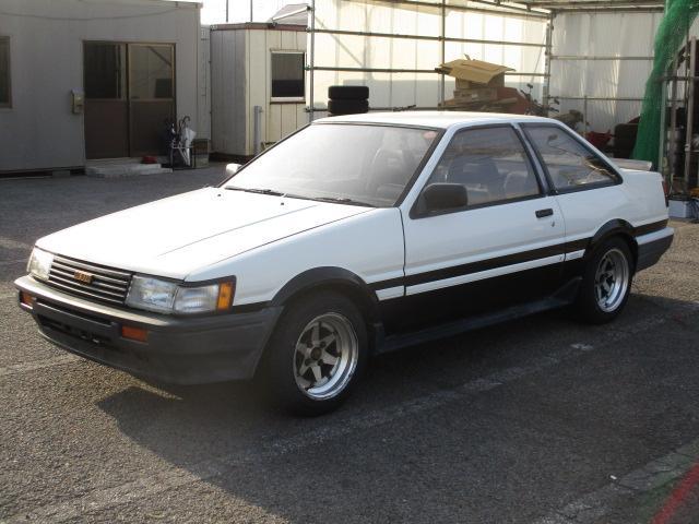 トヨタ GT APEX 5速MT AE86 ロンシャン