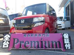 N BOXカスタム2トーンカラースタイル G・ターボAパッケージ ナビ TV
