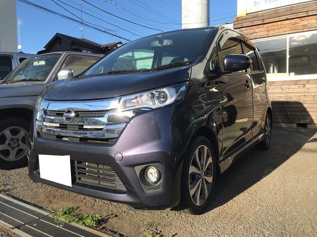日産 ハイウェイスター Gターボ TV ナビ 軽自動車 4WD