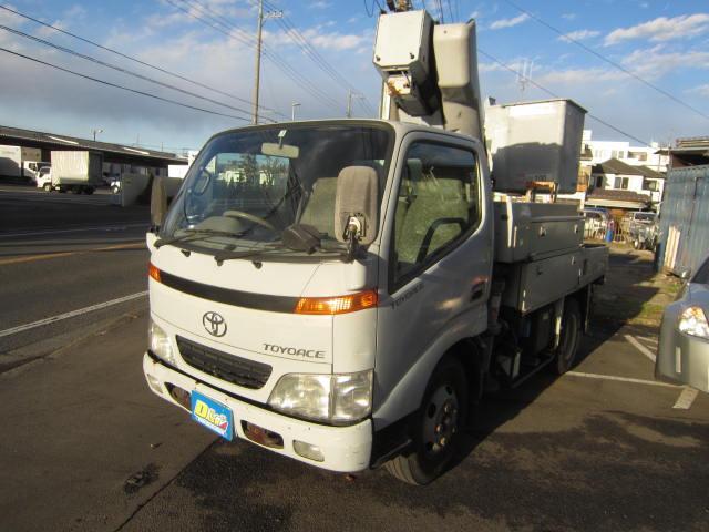 トヨタ 高所作業車アイチ10.6mLPG年次点検済み