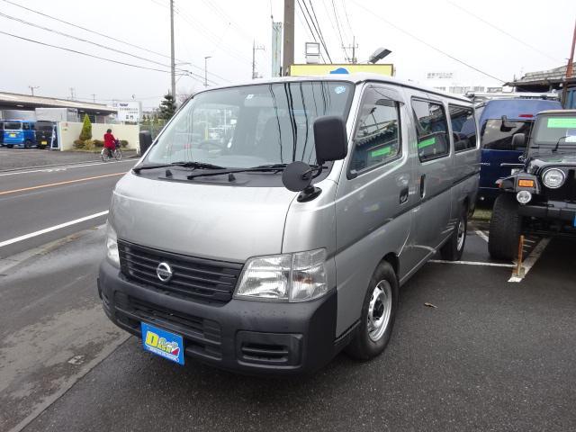 日産 DX10人乗りWエアコンリヤヒーターー