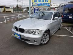 BMW118i禁煙車黒本革シート&サンルーフ