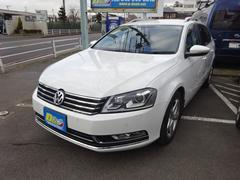VW パサートヴァリアントTSIハイライン禁煙車黒本革シート