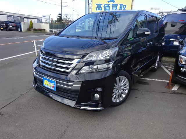 トヨタ 3.5Z Gエディション黒本革&SRリヤモニターモデリスタ