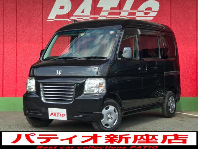 ホンダ バモスホビオ G マニュアル車 ハイルーフ ナビ Bluetoothオーディオ TV ETC