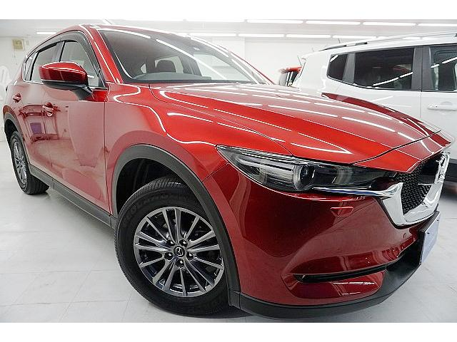 マツダ XD 4WD 新車保証付 軽減ブレーキ ナビ 1オーナー禁煙