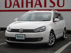 VW ゴルフヴァリアントTSI コンフォートライン 禁煙 社外ナビ Bカメラ ETC