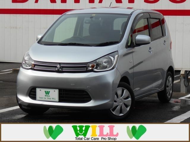 三菱 eKワゴン M /ワンオーナー/禁煙/キーレスキー/シートヒーター/1年保証