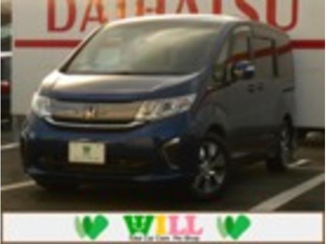 ホンダ ステップワゴン G・EX ホンダセンシング /禁煙/両側電動/社外8インチナビ/ETC/1年保証/シートヒーター