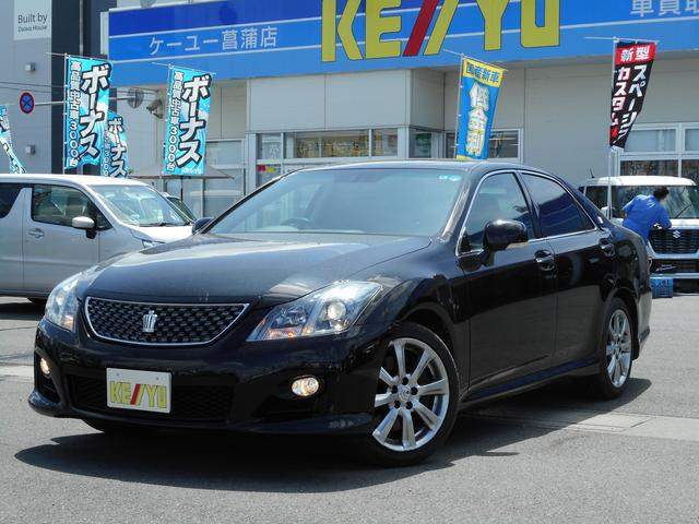 トヨタ 3.5アスリート HDDマルチTVサンルーフETC禁煙HID