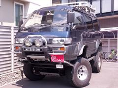 デリカスターワゴンエクシード クリスタルライトルーフ デモカー級カスタム車
