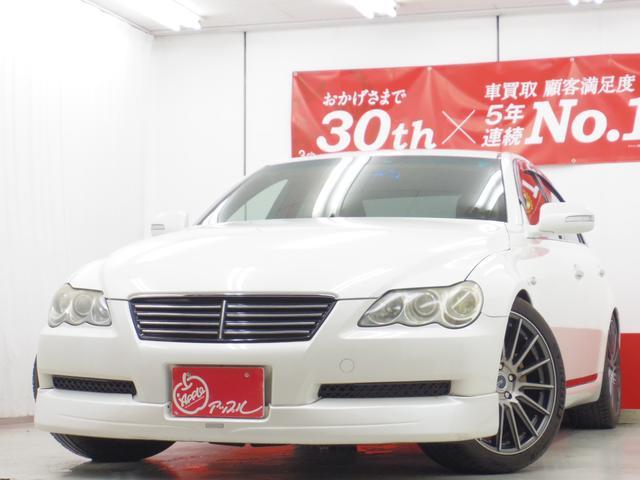トヨタ 250G Sパッケージ HDDナビTV19AW車高調マフラ-