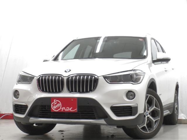 BMW X1 sDrive 18i xライン 禁煙車 茶本革ハイライン&コンフォートパック ヒーター付き本革電動メモリーシート ドライビングアシスト 衝突安全装備 純正HDDナビ 地デジ バックカメラ 純正18AW パワーバックドア ワンオーナー