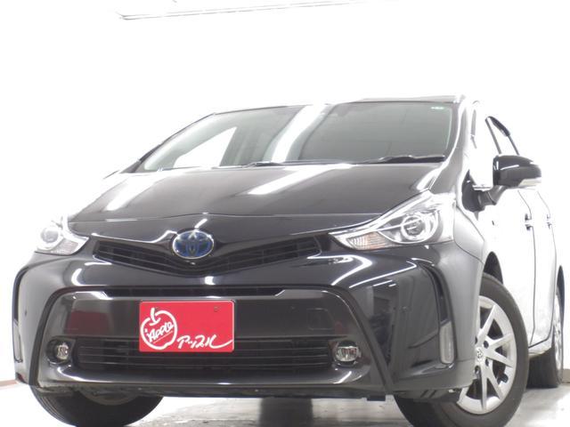 トヨタ S チューン ブラックII 禁煙車 ワンオーナー プリクラッシュセーフティシステム LEDヘッドランプ T-Connect対応SDナビ フルセグTV バックカメラ Bluetooth シートヒーター 走行無制限1年保証付き