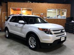 フォード エクスプローラーリミテッド エコブースト 限定車 本革シート Wサンルーフ