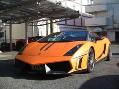 ランボルギーニ ガヤルドスーパーレジェーラ最終モデルオレンジラッピングッ