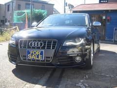 アウディ S4ベースグレード右ハンドルサンルーフ本革