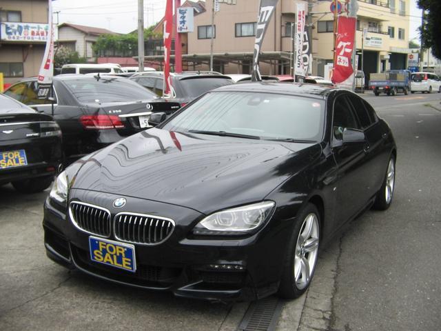 BMW 640iグランクーペ Mスポーツサンルーフワンオーナー