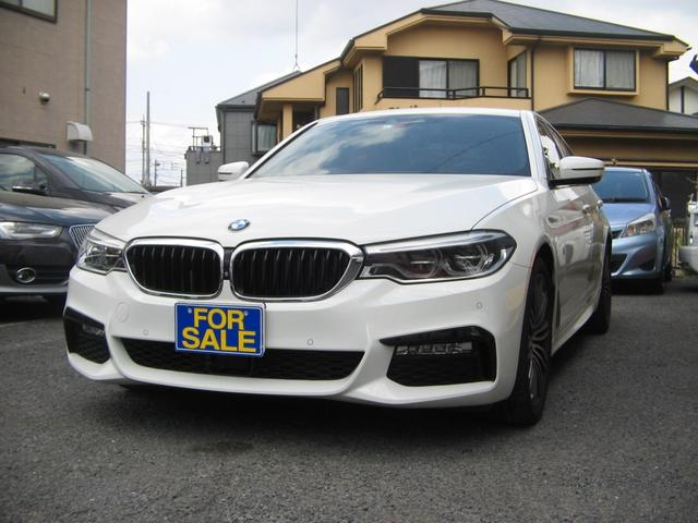 BMW 5シリーズ 523d Mスポーツ ハイラインパッケージ クリーンディーゼル地デジナビバックカメラETCアクティブクルーズレーンキープ19インチ本革パワーシートヒーター