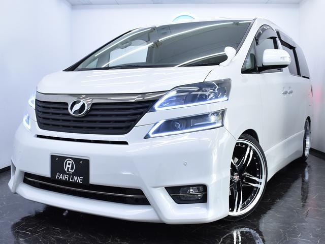 トヨタ 2.4ZプラチナSII 両側電動Sドア 新品車高調KIT
