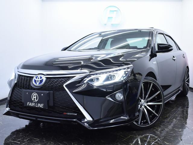 トヨタ HV-G 新品スピンドルエアロ サンルーフ ファイバーテール