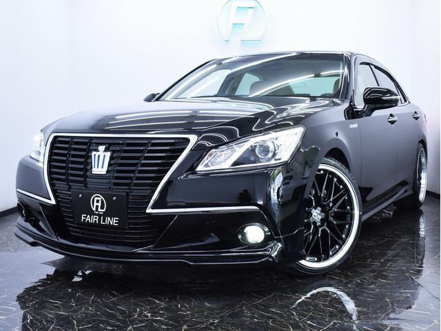 トヨタ ロイヤルS 新品フルエアロ 新品ホイール BLACKフェイス