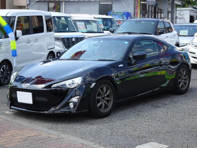 トヨタ GT マフラー 車高調 純正SDナビ フルセグ バックカメラ