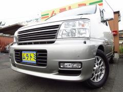 エルグランドXリミテッド 最終 4WD 1オーナー 本革7人乗 パワスラ