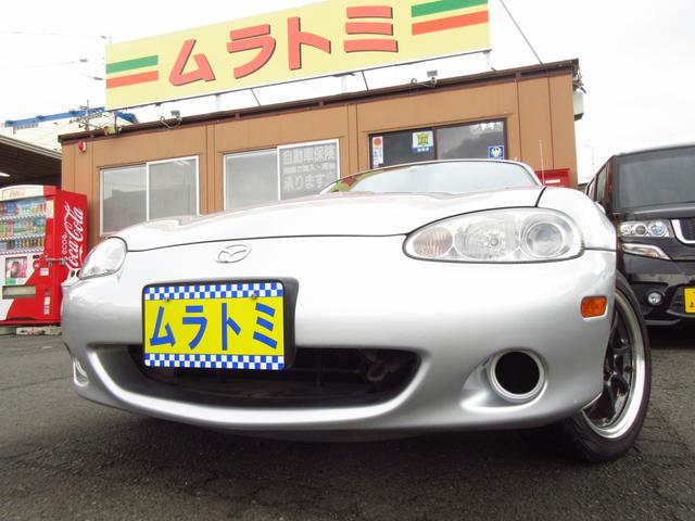 マツダ 5速MT車 Tベルト交換済 RAYS製CE28 ロールバー