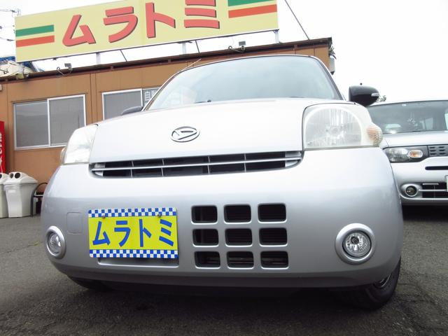 ダイハツ エッセ エコ 5速マニュアル車 キーレス 電格ミラー 革巻きハンドル フォグライト エアロパーツ