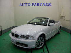 BMW330Ciカブリオーレ デーラー車 ナビ ETC