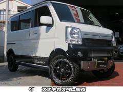 エブリイワゴンJPターボ 4WD RIDETECHTYPEIIカスタムカー