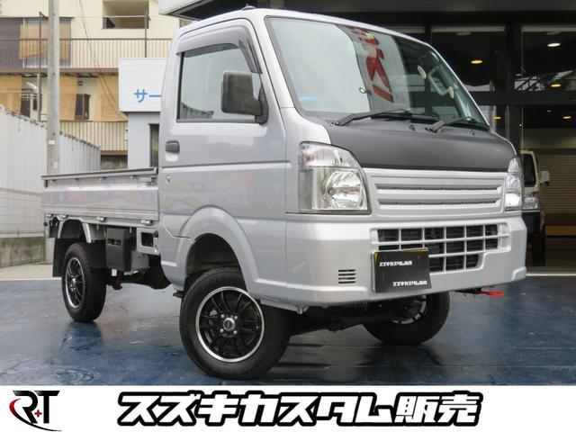 スズキ キャリイトラック KCエアコンパワステ 4WD 4インチリフトアップ!