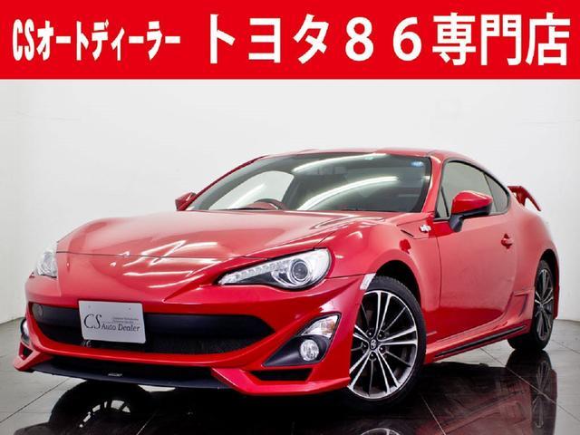 トヨタ GT 6MT TOM'S&TRDエアロ バックカメラ