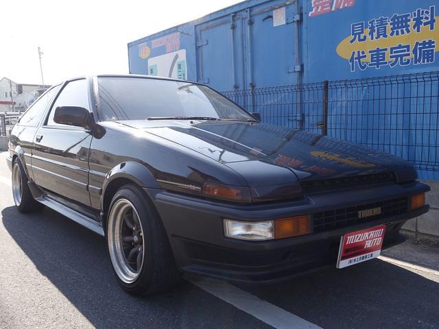トヨタ GT APEX ブラックリミテッド BLACKLIMITED